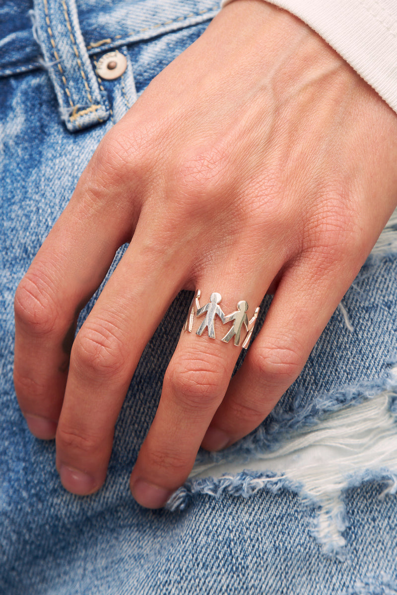 Cito Ring in Sterling Silver by Martha Cristina