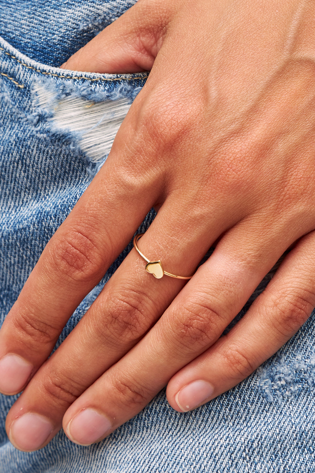 Cito Ring in 14K Gold by Martha Cristina