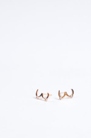 Load image into Gallery viewer, Juntas 14k Gold Stud Earrings by Martha Cristina