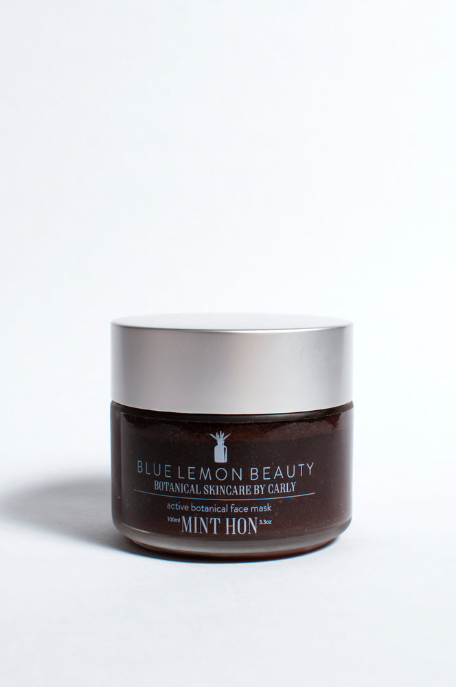 Blue Lemon Beauty Mint Hon Mask