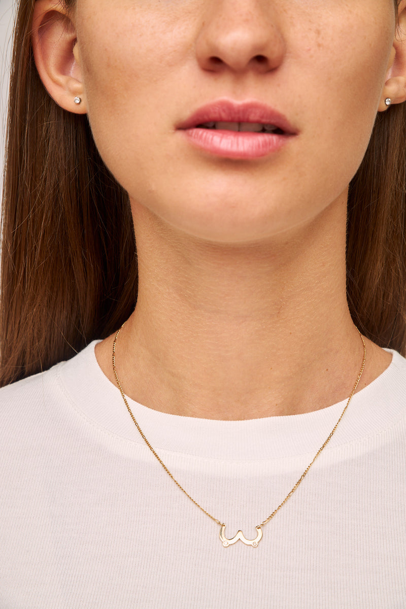Juntas 14K Gold Necklace by Martha Cristina