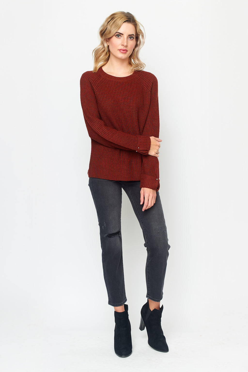 Chunky Knit Merino Sweater