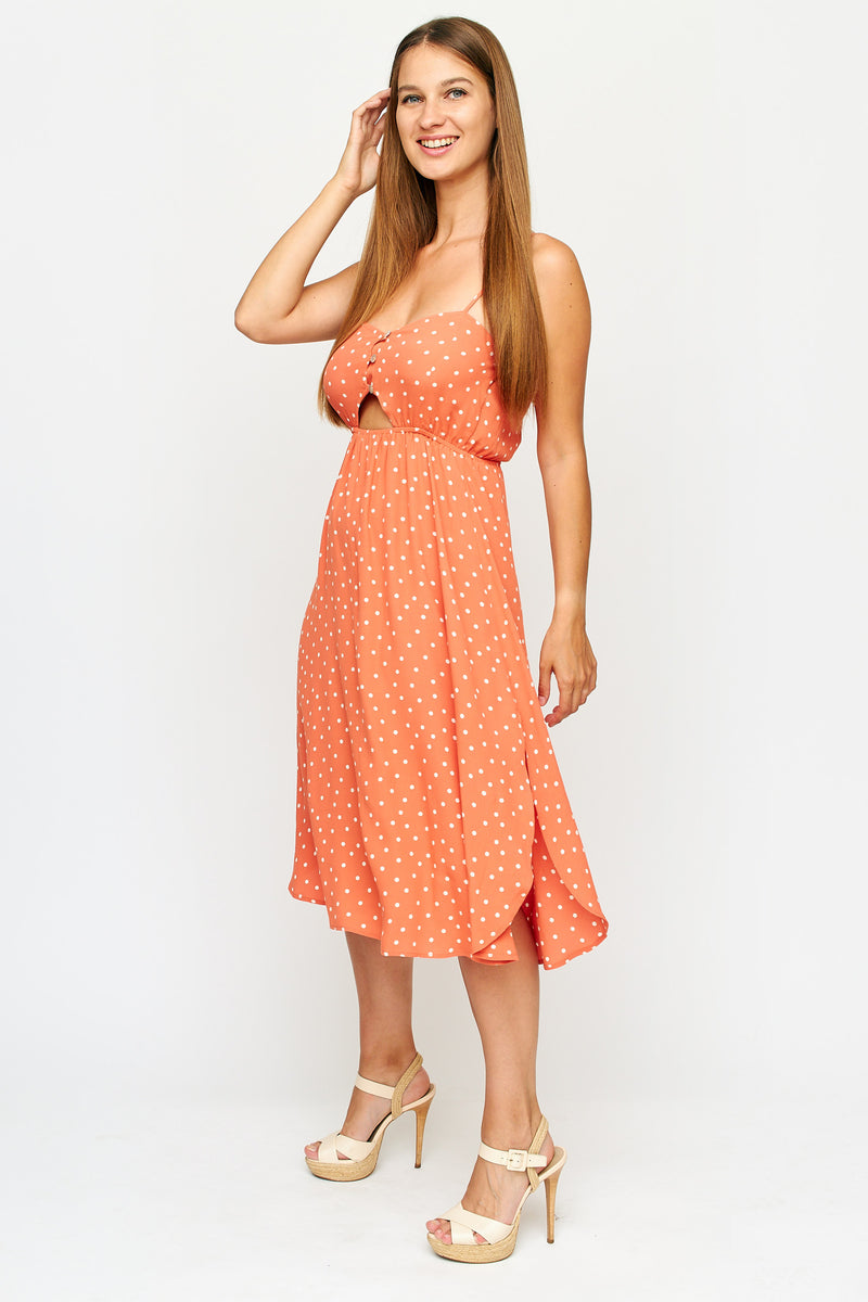 Londyn Polkadot Dress