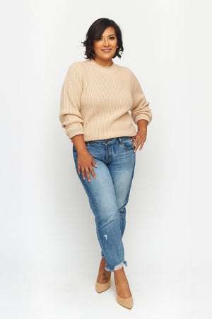 Load image into Gallery viewer, Merino Wool Crewneck Sweater