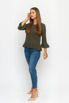 Maren Bell Sleeve Sweater
