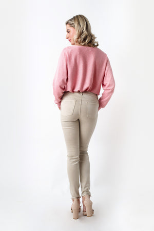 Load image into Gallery viewer, Light Beige Trouser
