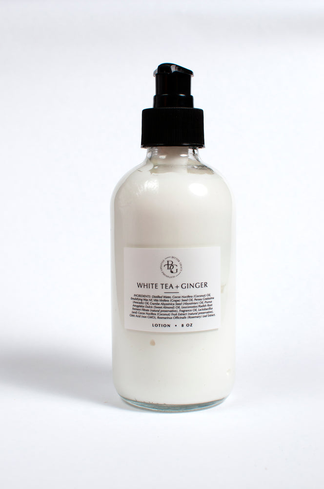 White Tea & Ginger Natural Lotion