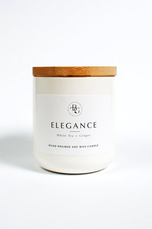 Load image into Gallery viewer, Elegance White Tea & Ginger Candle
