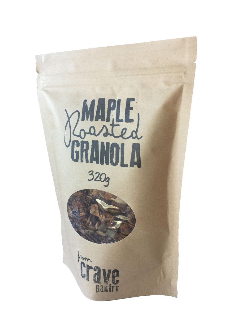 MAPLE ROASTED GRANOLA