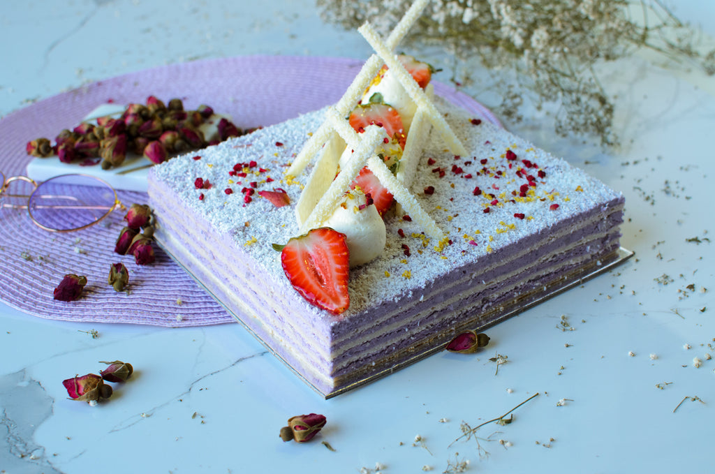 TARO AND COCONUT CAKE (NUT-FREE)
