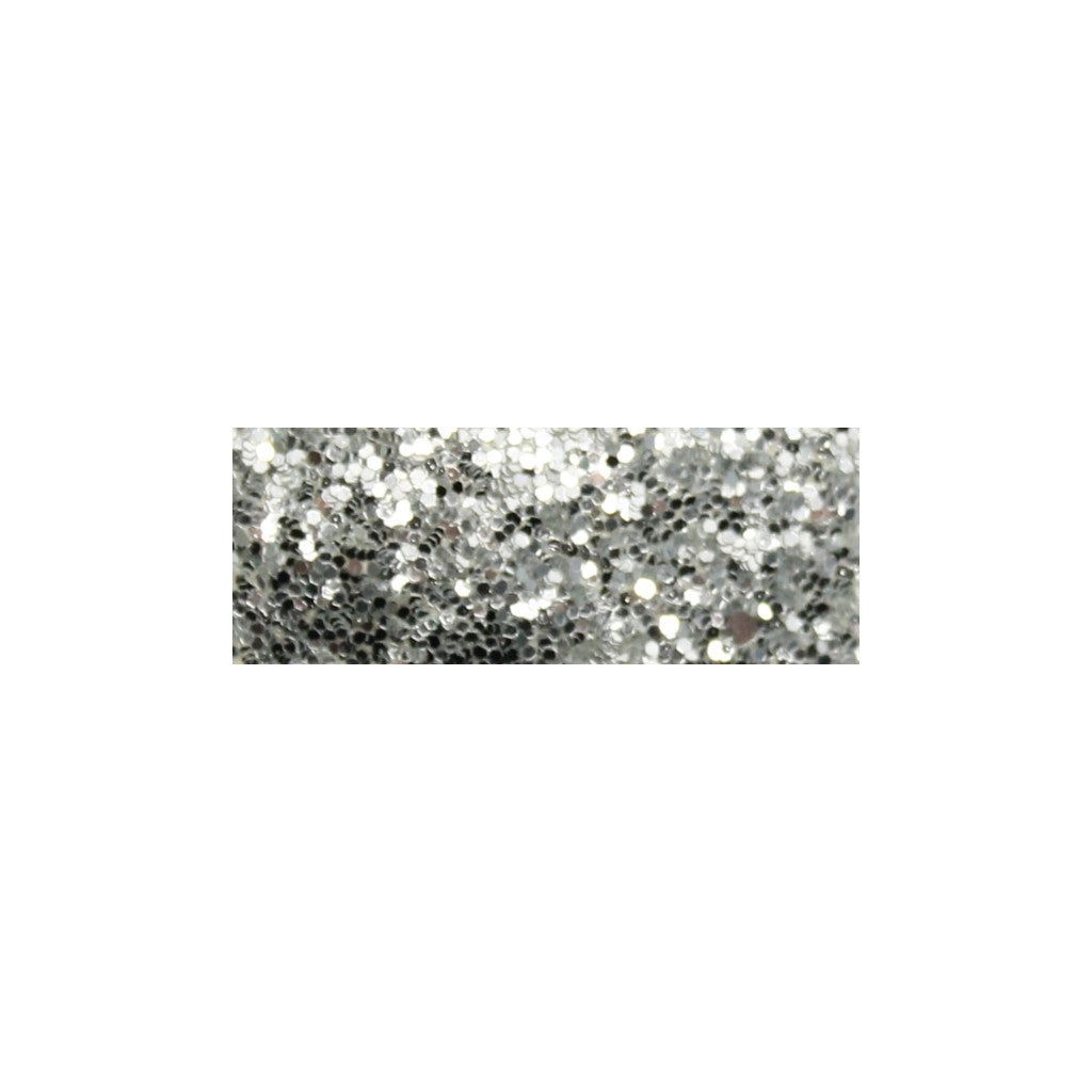 Glitter Snap Clips | Silver