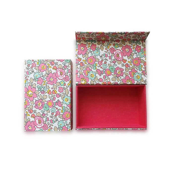 Liberty Hair Accessories Box - Poppy