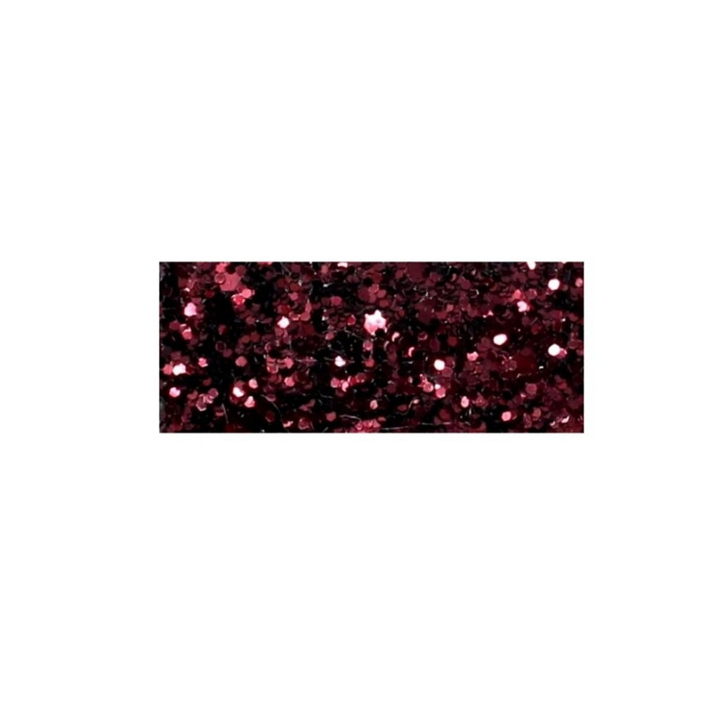 Glitter Snap Clips | Burgundy