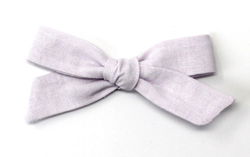 Regular Pigtail Bow | Lilac