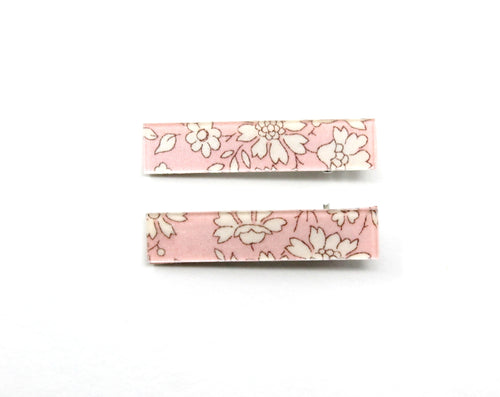 Liberty Bar Clips | Capel Pink