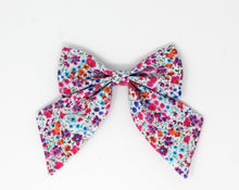 Load image into Gallery viewer, Sailor Hand-Tied Bow | Wild Berry