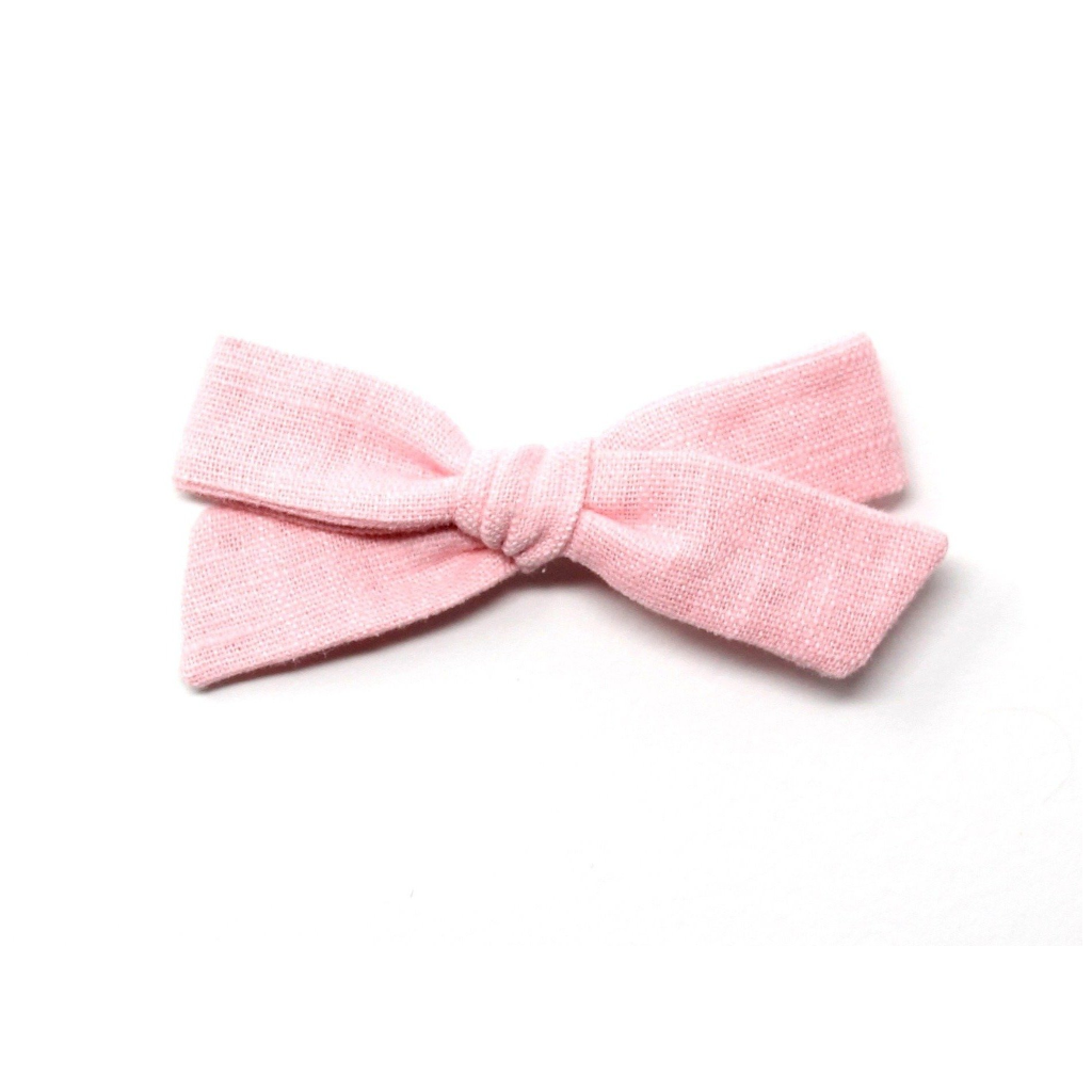 Regular Pigtail Bow | Candy Pink