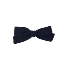 Load image into Gallery viewer, Petite Pigtail Bow | Black