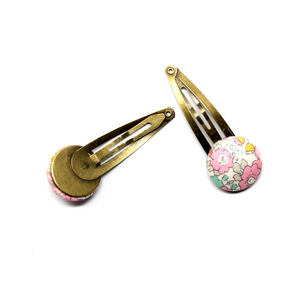 Button Liberty Snap Clips | Mellie