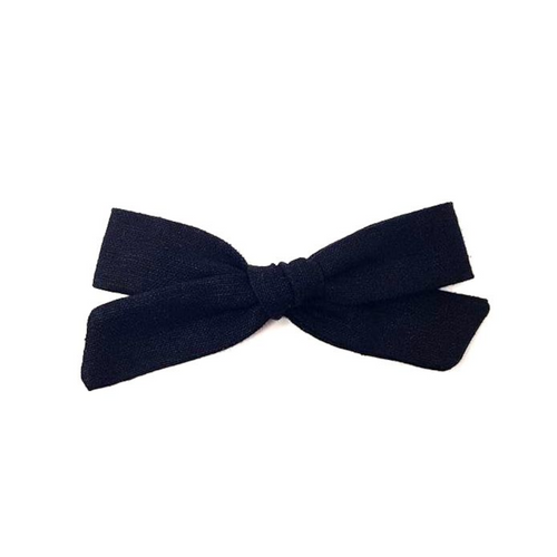 Regular Pigtail Bow | Black