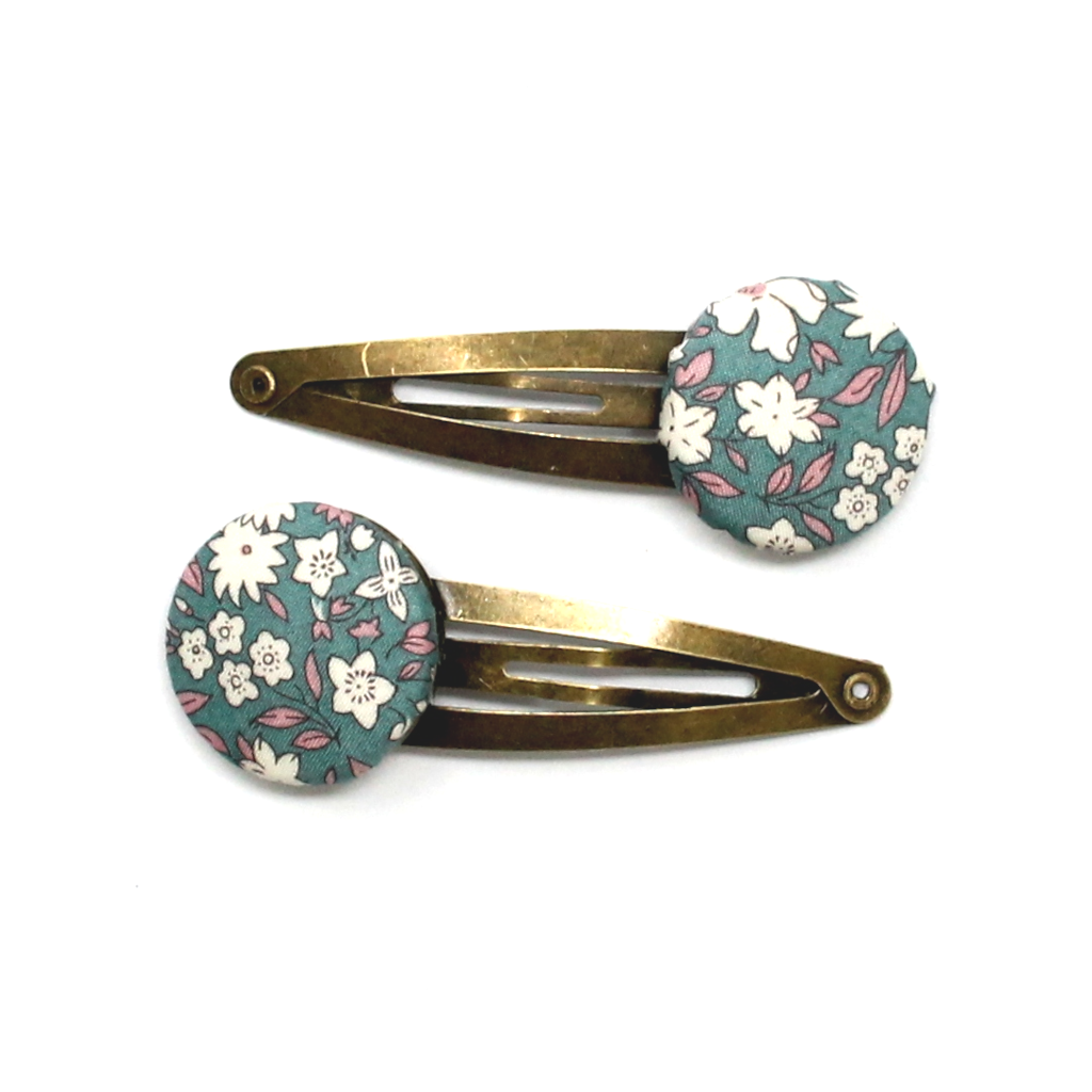 Button Liberty Snap Clips | Green Gables