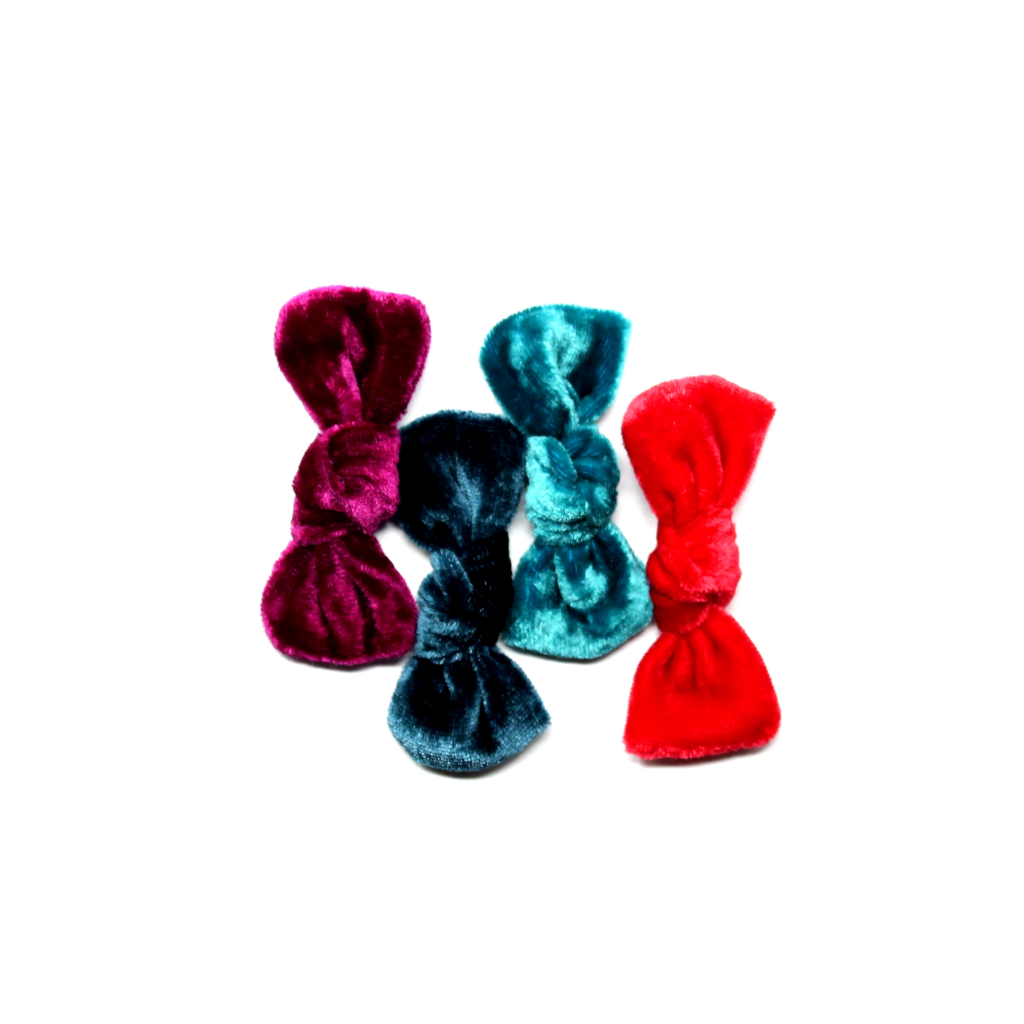 Silk Velvet Knot | Set of 4