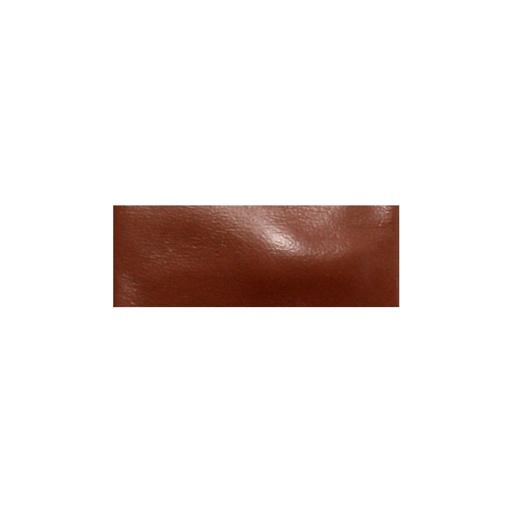 Leather Snap Clip | Brown