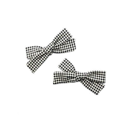 Petite Pigtail Bow Set | Charlie