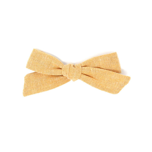 Regular Pigtail Bow | Marigold