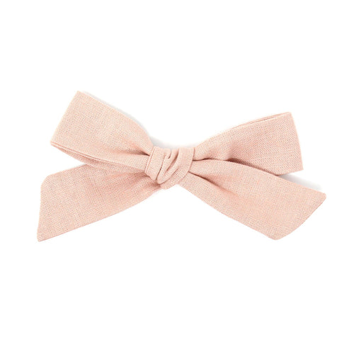 Regular Pigtail Bow | Rose