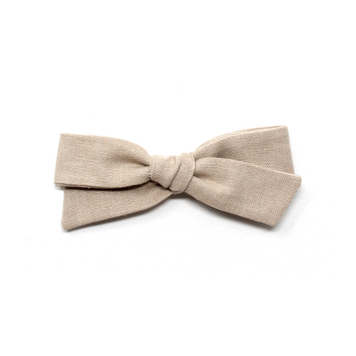 Regular Pigtail Bow | Truffle