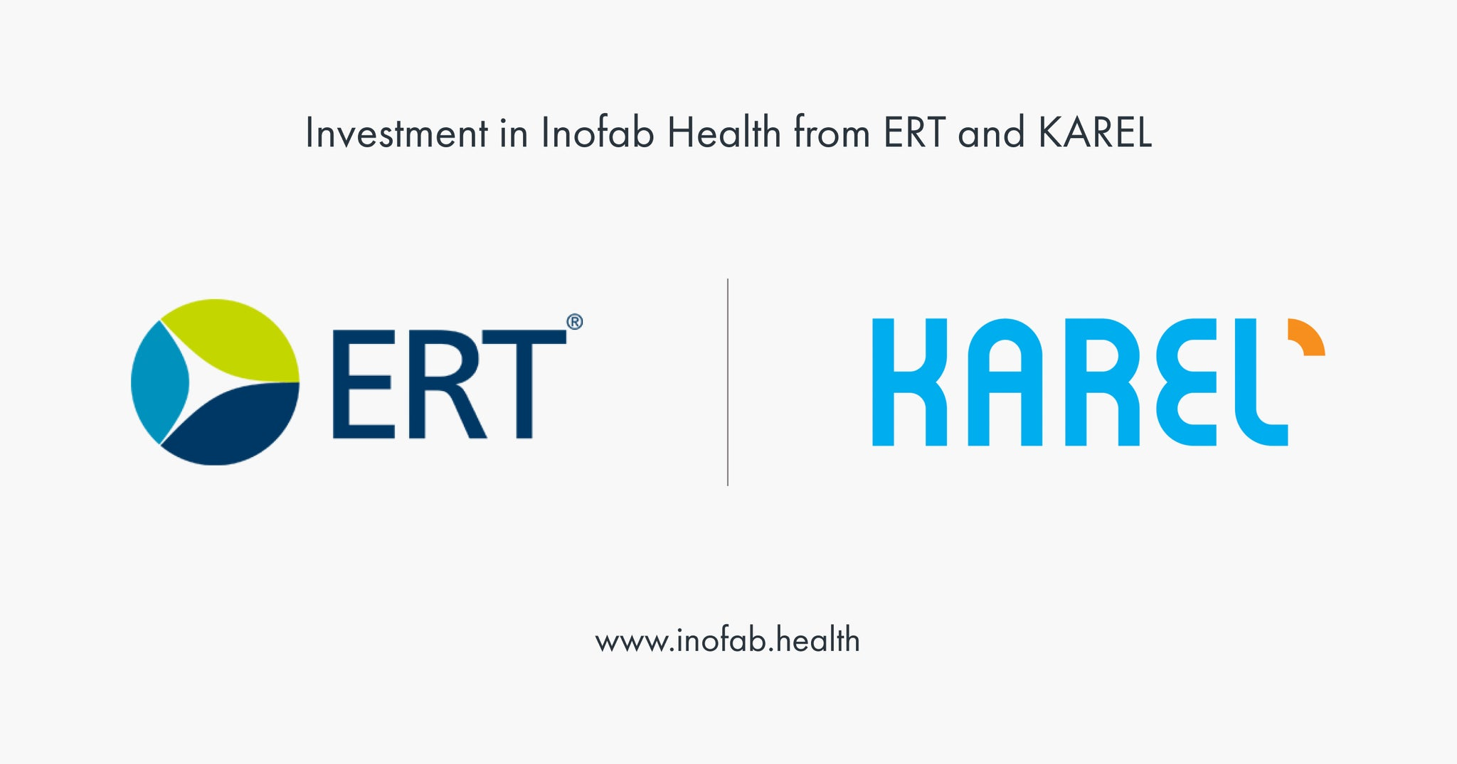 ERT and Karel Electronics invests in Inofab Health