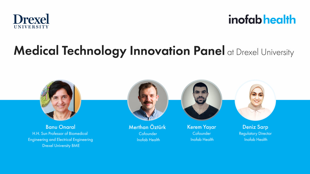 Inofab Health at MedTech Innovation Panel, Drexel University