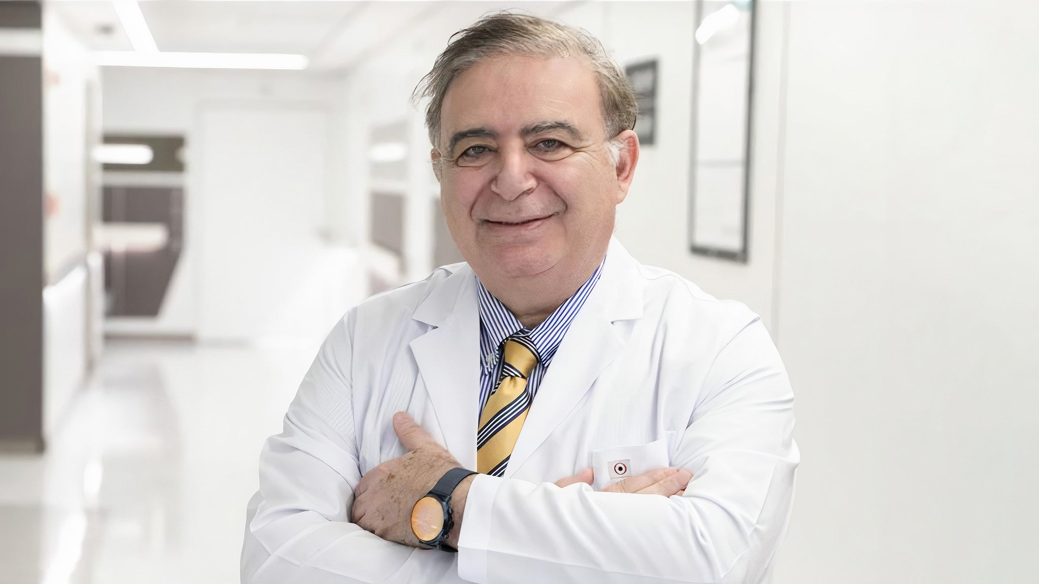 Prof. Dr. Salih Emri: A COVID-19 Doctor and Patient