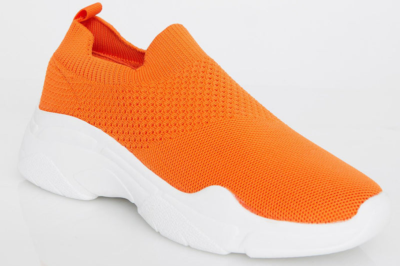 Juiced Trending Topic Orange Sneakers
