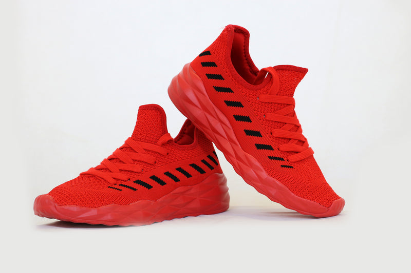 Qupid Red Sneakers
