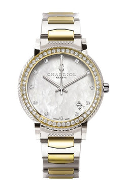Charriol Diamond Watch, 30mm-40mm
