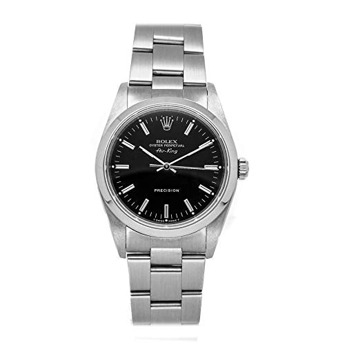Rolex Air-King Mechanical (Automatic) Black Dial Womens Watch 14000 (Certified Pre-Owned)