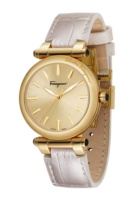 Salvatore Ferragamo Watch, 34mm