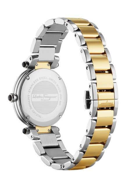 Salvatore Ferragamo T-Tone Bracelet Watch, 34mm