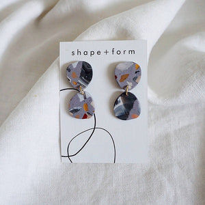 ZOE Mini Terrazzo Earrings