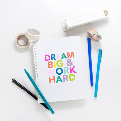 Dream Big Lined Notebook