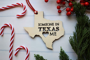 Someone in Texas Loves me Ornament