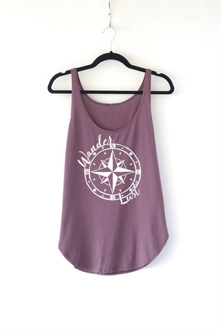 Wanderlust Ladies Tank Top