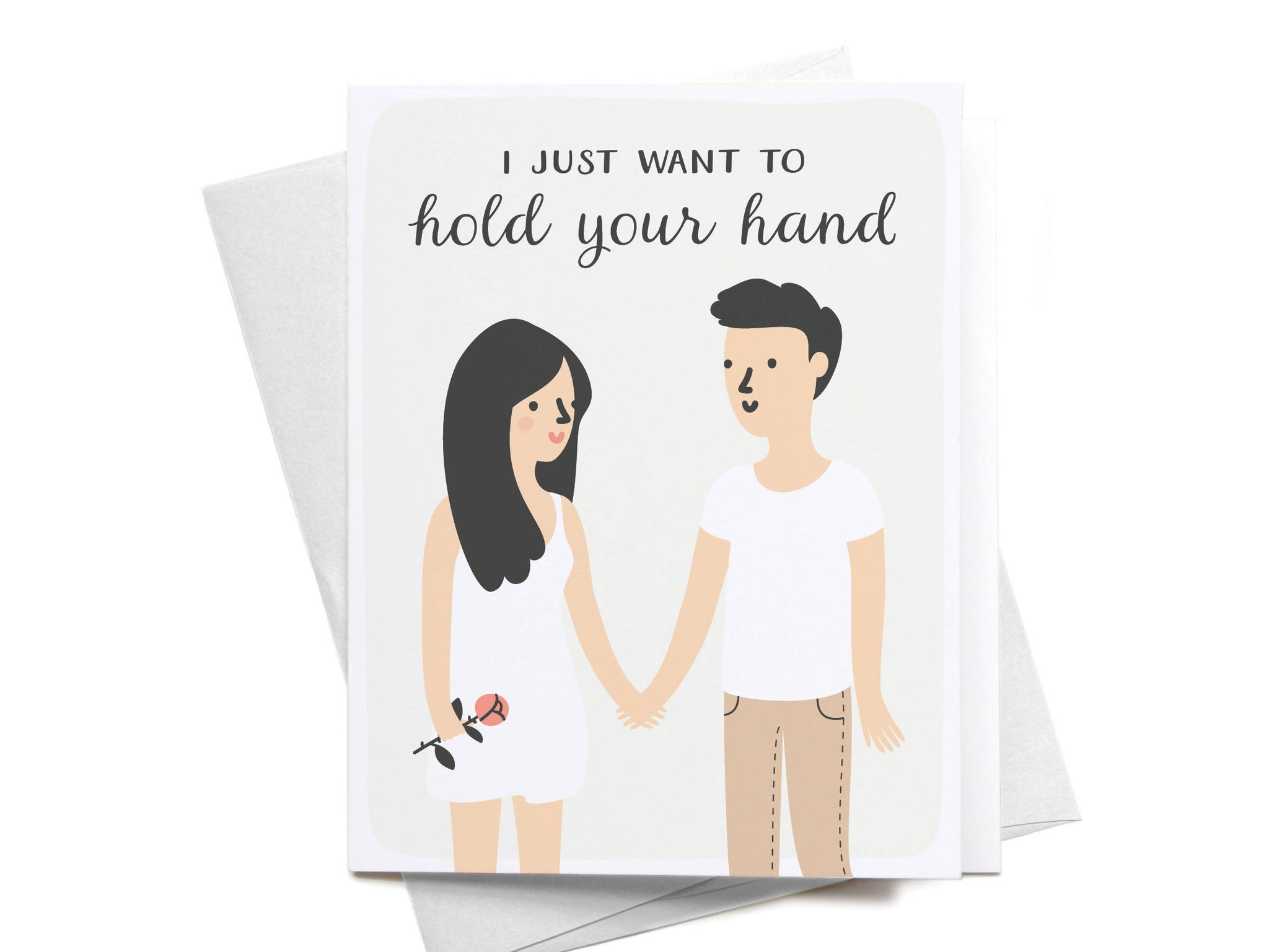 I Just Want to Hold Your Hand Greeting Card