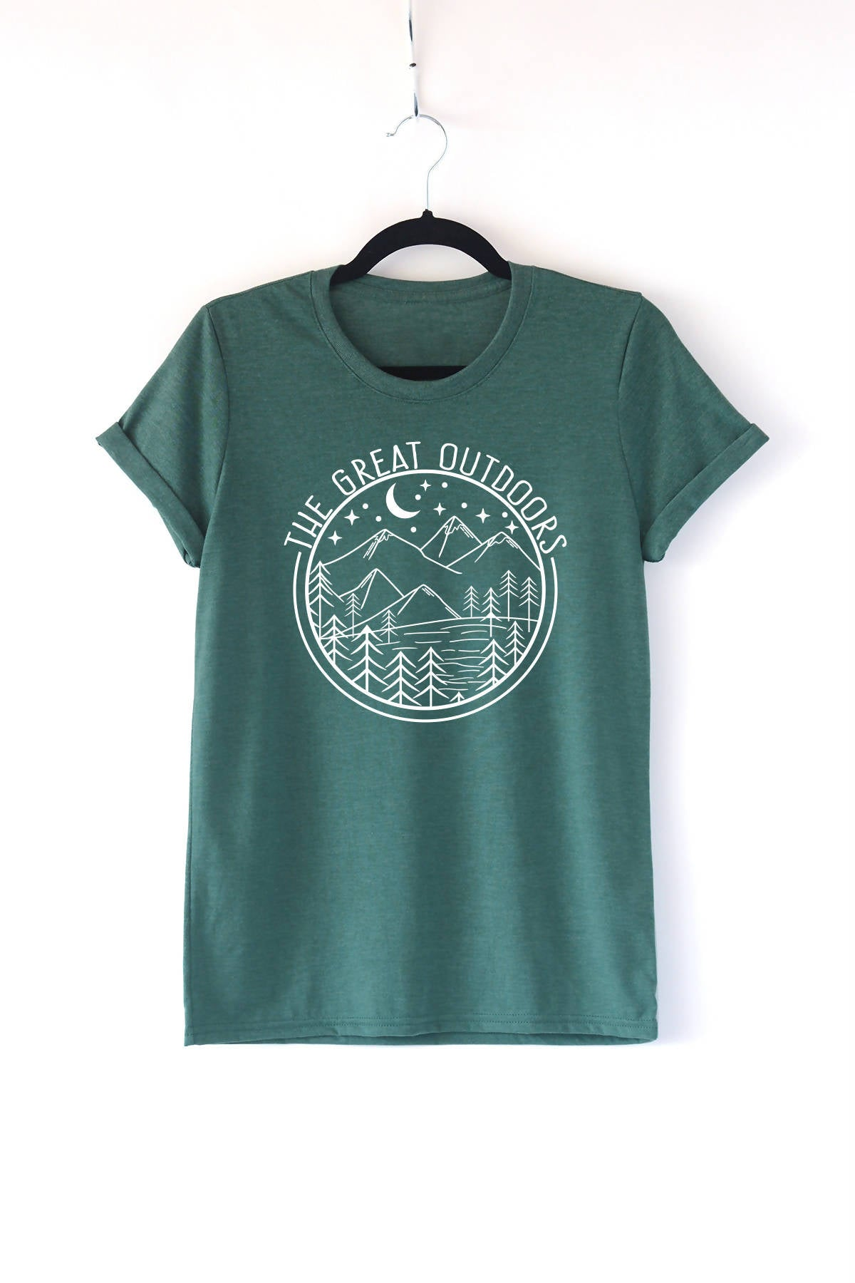 The Great Outdoors Adult Crewneck Tee