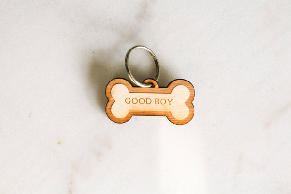 Good Boy Dog Tag