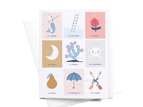 Loteria Greeting Card