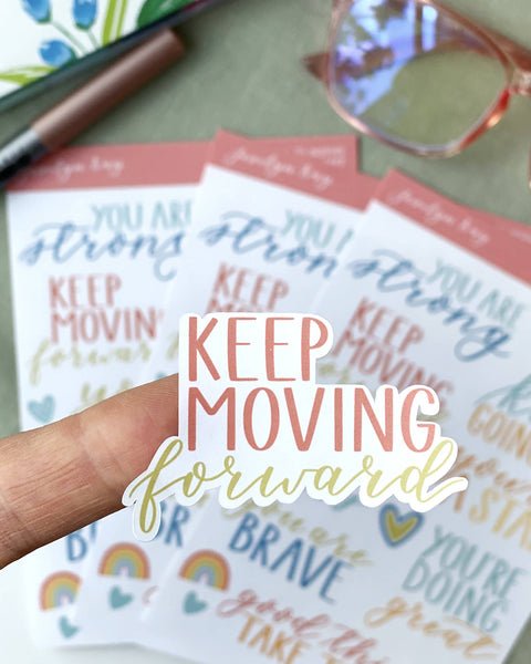 Words to Inspire Sticker Sheet