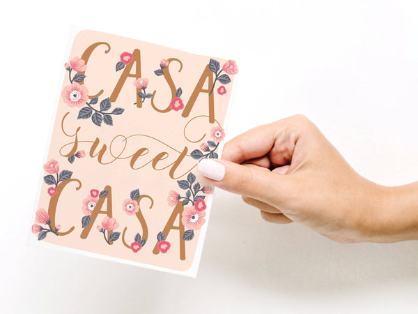 Casa Sweet Casa Greeting Card